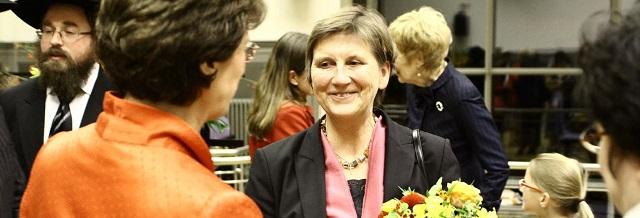 Ernst-Ludwig-Ehrlich Medaille für Frau Dr. Claudia Lücking-Michel