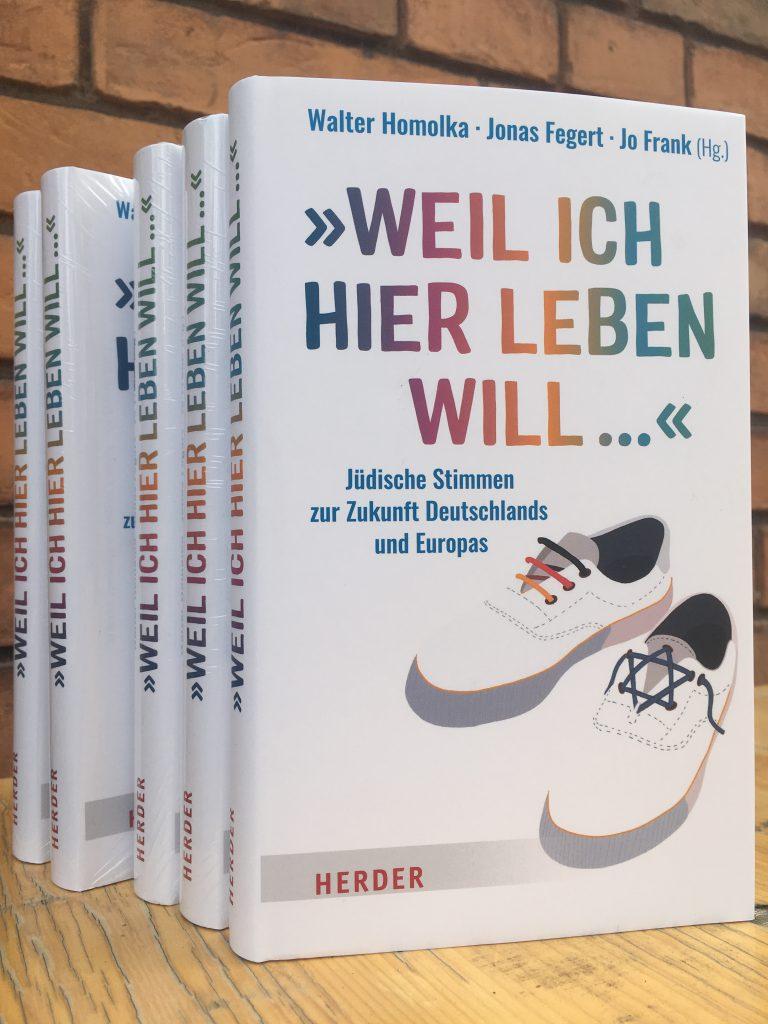 """""""Weil ich hier leben will … Jüdische Stimmen zur Zukunft Deutschlands und Europas"""" – Zweite ELES-Publikation erscheint"""