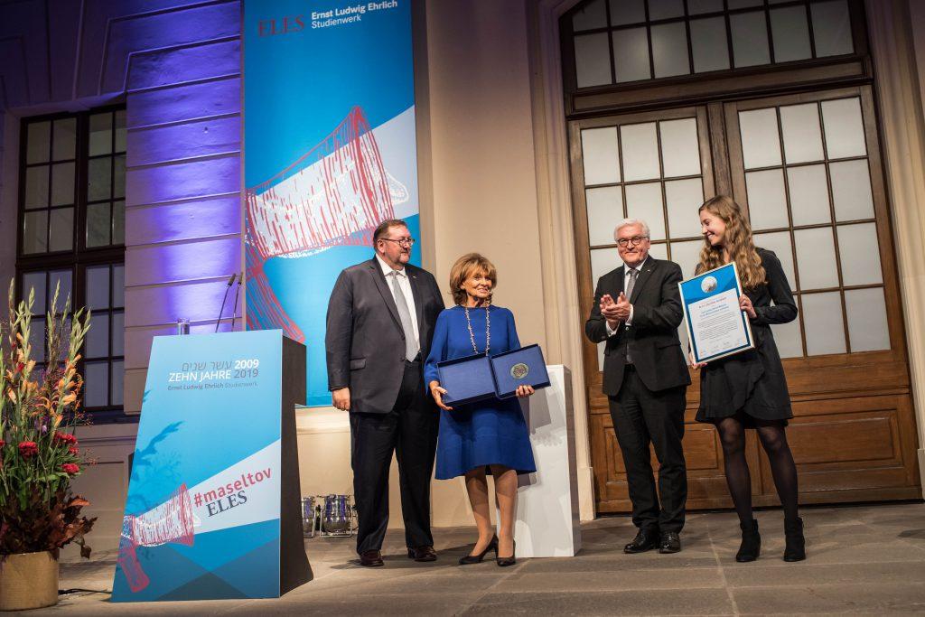 Charlotte Knobloch mit Ernst Ludwig Ehrlich Medaille ausgezeichnet